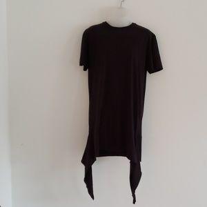 Men Boohoo T Shirt Medium Black